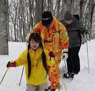 スノーハイキング