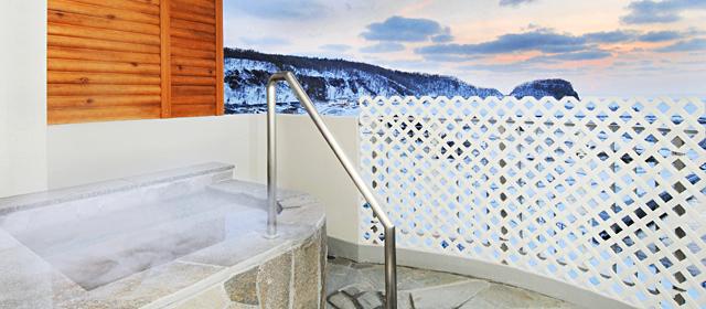 特別室-露天風呂付き客室-|知床ノーブルホテル