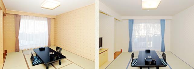 和室(8畳/10畳)|知床ノーブルホテル