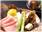 渓谷味豚の味噌陶板焼き